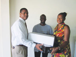 Revival Centre receives equipment